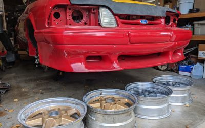 Saleen SA10 Hood?? And Wheel Prep.