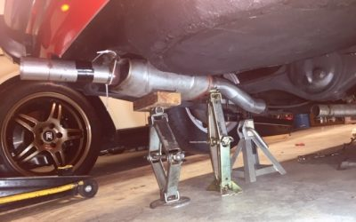 Corolla Exhaust Reroute – Making Room for a Panhard Bar