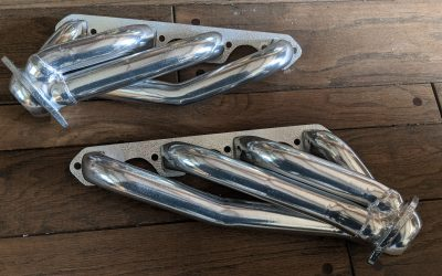 Shorty Headers – Restored: Before and After