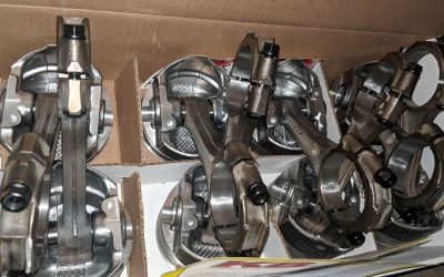 Engine Parts – Back From Machine Shop