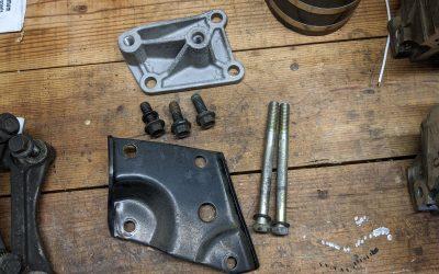 Ford Motorsport A/C Delete Kit Bracket M-8511-A50