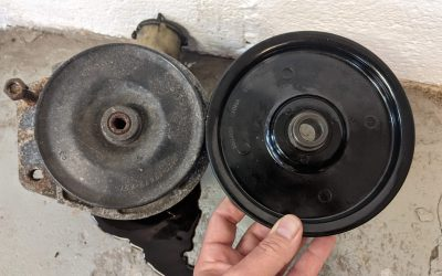 Power Steering – Slowing the Pump – Underdrive Pulley