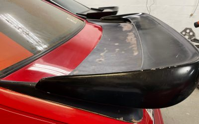 """Saleen Wing Details – We Install the """"Double Stack"""" Wing"""