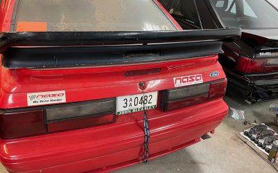 1990-91 Saleen Mustang Double Stack Wing – SCORE!!!